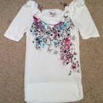 Matalan Floral Cowl Neck Top - size 8, multi colour.  is being swapped online for free