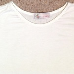 New Look White Jersey Crop Top - Size UK 12. is being swapped online for free