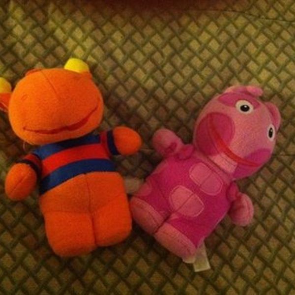 Backyardigans stuffed toys is being swapped online for free