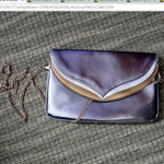 Silver Envelope Clutch is being swapped online for free