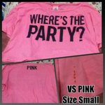 Vs pink party shirt is being swapped online for free