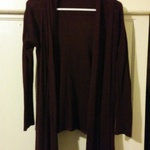 burgundy cardigan is being swapped online for free