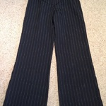 Linea Pinstriped Flare Trousers - Size UK 12. is being swapped online for free