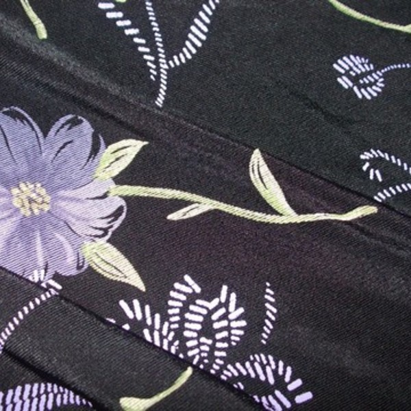 Beautiful Black/Purple Floor Length Maxi Skirt is being swapped online for free