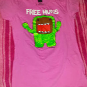 Domo free hugs is being swapped online for free