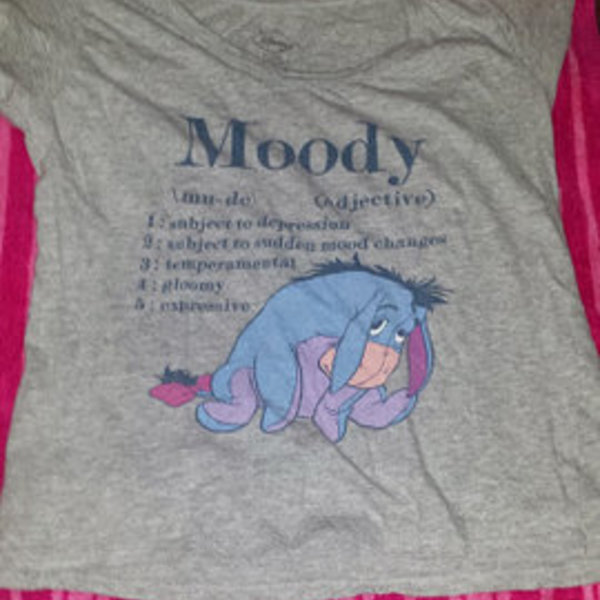 Eeyore Moody shirt is being swapped online for free