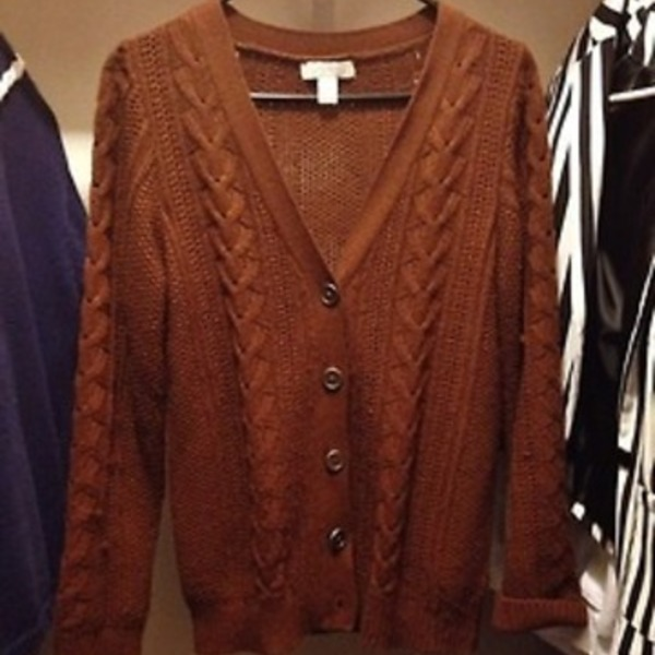F21 Brown Cardigan is being swapped online for free