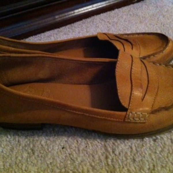 adorable Crown Vintage menswear look penny loafers -size 8.5 is being swapped online for free