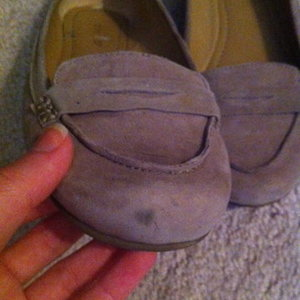 Nine West gray suede penny loafers - size 8.5 is being swapped online for free