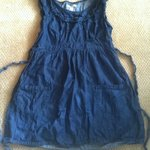 Charlotte russe denim dress sz Xl is being swapped online for free