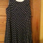 Monteau LA Blue/White Polka Dot Dress is being swapped online for free
