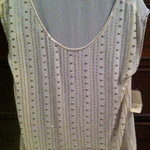 Forever 21 sparkly beaded top, new with tags, small is being swapped online for free