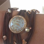 Boho Leather Strappy Wrap Bracelet Watch is being swapped online for free