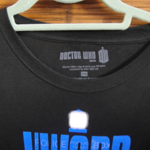 Doctor Who Tee shirt (Brand new) is being swapped online for free