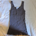 Brown Charlotte Russe ribbed tank is being swapped online for free