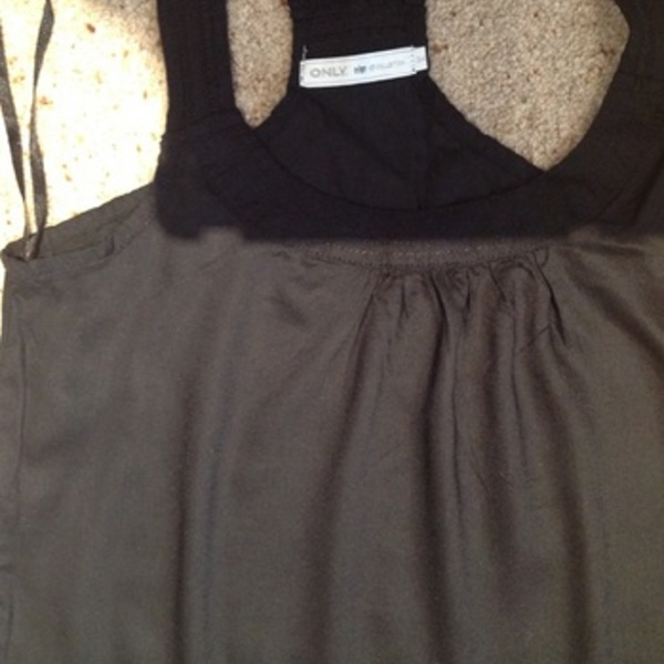 Only Black Cami/ Tank Top - Size UK 8.  is being swapped online for free