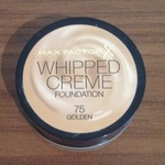 Max Factor Whipped Creme Foundation - golden shade, 18ml. is being swapped online for free