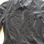 Black Express Blouse, S is being swapped online for free
