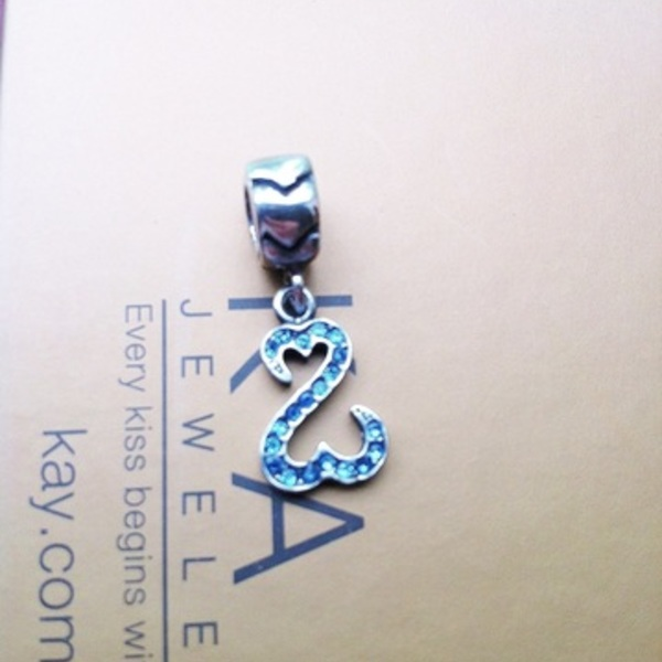 Kay Jeweler's Charmed Memories Open Hearts Dangle Charm Sterling Silver  is being swapped online for free