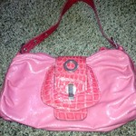 SO CUTE PINK LEATHER FAR NINE PURSE is being swapped online for free