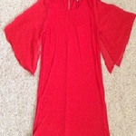 Papaya Red Kimono Top - size 8. is being swapped online for free