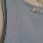Light Blue Textured Nice Tank S-M is being swapped online for free