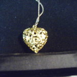 Gold Heart Pendant is being swapped online for free