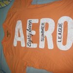 Mens Aeropostale Orange Medium is being swapped online for free