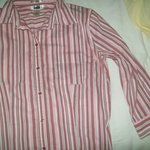 Old Navy Pink Collered Covershirt  Medium is being swapped online for free