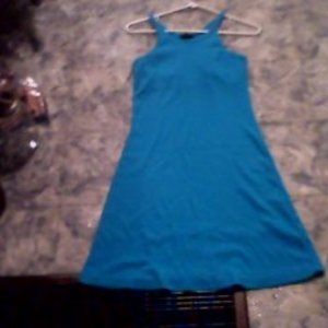 Plain blue dress XS/S is being swapped online for free
