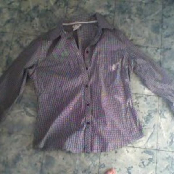 At Last Dressy Checkered Shirt XL/L is being swapped online for free