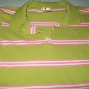 Old Navy Medium Green And Pink Top is being swapped online for free