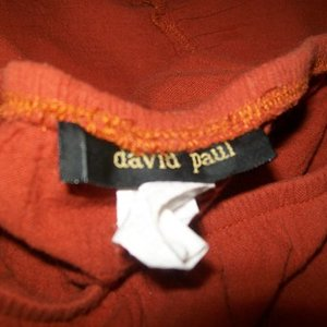 David Paul Orange Long Skirt Small is being swapped online for free