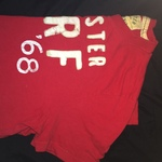 Men's Red Hollister Tee is being swapped online for free