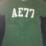 Men's Green AE Tee is being swapped online for free