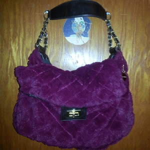 Big Buddha Fuzzy Purse is being swapped online for free