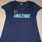Old Navy Be Amazing V Neck Tee Size L is being swapped online for free