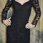 Sexy Vintage Black Lace Dress  is being swapped online for free
