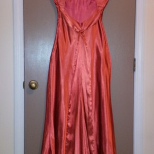 9-10 Orange Bari Jay Dress (Fits like a size 6) is being swapped online for free