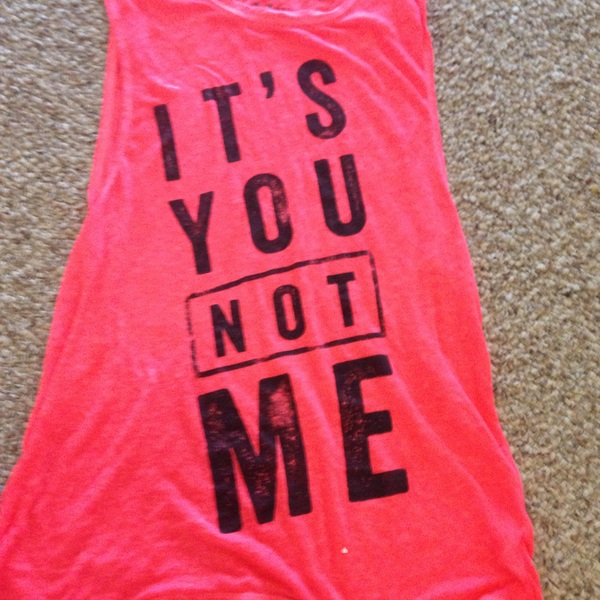 It's you not me muscle tee aeropostale is being swapped online for free