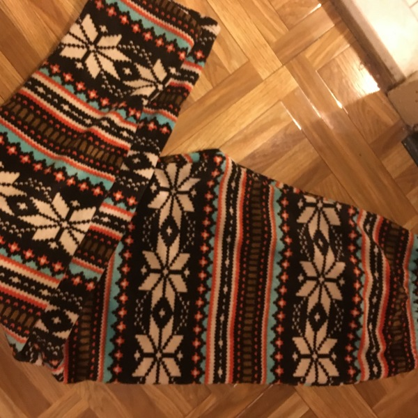 Fleece Tribal Leggings is being swapped online for free