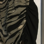 Distress oversized zebra/skull top is being swapped online for free