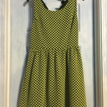 Fv21 black/yellow skater dress S is being swapped online for free