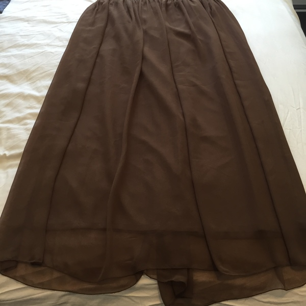 Brown Long Skirt is being swapped online for free