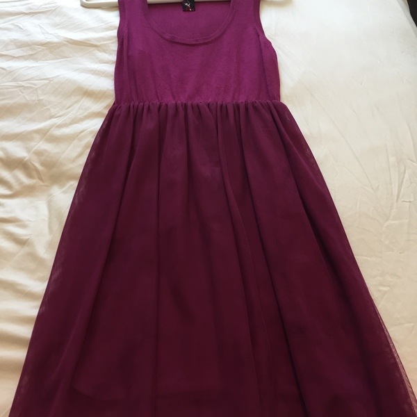 Pink/Purple Dress w/ Tulle  is being swapped online for free