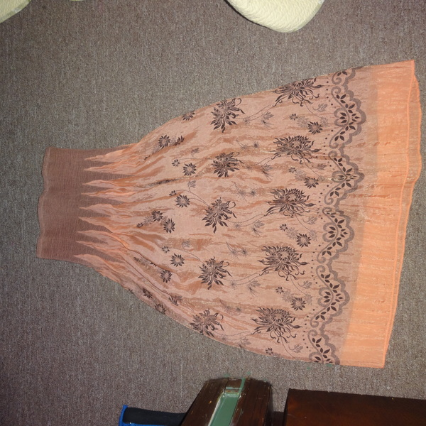 Anthropologie Lapis Strapless Coral Sundress S is being swapped online for free