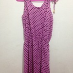 polka dot pink dress is being swapped online for free