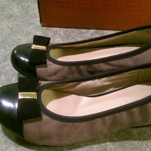 Daphne brown flats, size 6 is being swapped online for free