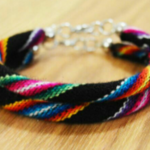 Two colorful Peruvian bracelets is being swapped online for free