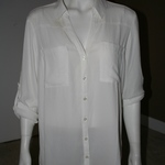 Express Portofino Blouse White Size L  is being swapped online for free
